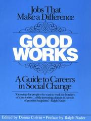 Cover of: Good works |