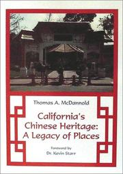 Cover of: California's Chinese heritage