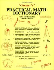 Cover of: Chenier's practical math dictionary