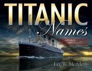 Cover of: TITANIC NAMES