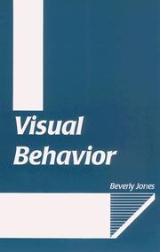 Cover of: Visual behavior