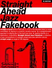 Cover of: Straight Ahead Jazz Fakebook