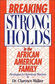 Cover of: Breaking strongholds in the African-American family