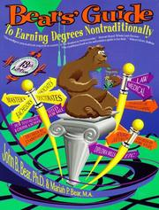 Cover of: Bears' Guide to Earning Degrees Nontraditionally (13th ed)
