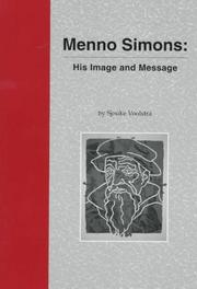 Cover of: Menno Simons | S. Voolstra