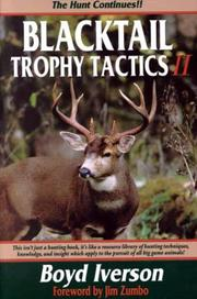 Cover of: Blacktail trophy tactics II