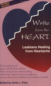 Cover of: Write from the Heart | Anita L. Pace