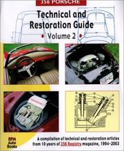 Cover of: 356 Porsche Technical and Restoration Guide, Vol. 2