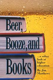 Cover of: Beer, Booze and Books | Jim Matthews
