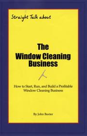 Cover of: The Window Cleaning Business | John Baxter
