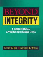 Cover of: Beyond integrity |