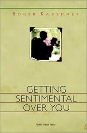 Cover of: Getting sentimental over you