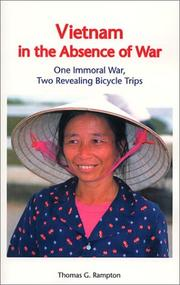 Cover of: Vietnam in the Absence of War | Thomas G. Rampton