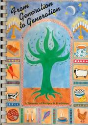Cover of: From Generation to Generation  | Sisterhood of Temple Emanu-El