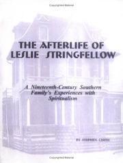 Cover of: The Afterlife of Leslie Stringfellow by Stephen Chism