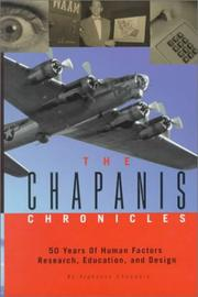 Cover of: The Chapanis chronicles