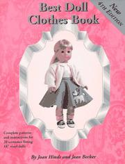 Cover of: Fancywork and Fashion's best doll clothes book by Joan Hinds