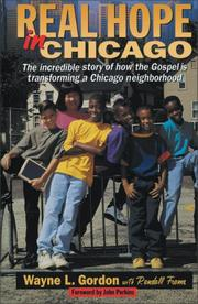 Cover of: Real hope in Chicago