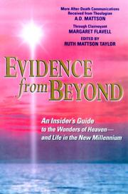 Cover of: Evidence from beyond