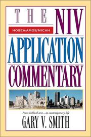 Cover of: The NIV Application Commentary | Dr. Gary V. Smith