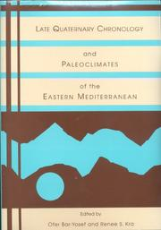 Cover of: Late Quaternary chronology and paleoclimates of the eastern Mediterranean |