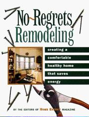 Cover of: No-Regrets Remodeling |