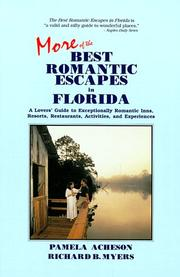 Cover of: More of the best romantic escapes in Florida