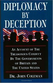 Cover of: Diplomacy By Deception