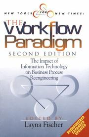 Cover of: The workflow paradigm |