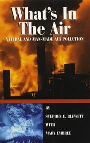 Cover of: What's in the air | Stephen E. Blewett