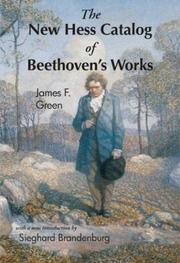 Cover of: The New Hess Catalog of Beethoven