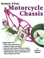 Cover of: Ultimate V-Twin Motorcycle Chassis | Tim Remus