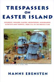 Cover of: Trespassers on Easter Island