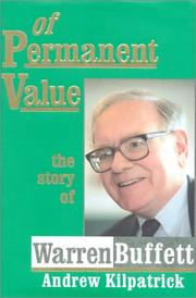 Cover of: Of Permanent Value  | Andrew Kilpatrick