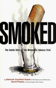 Cover of: Smoked | Deborah Caulfield Rybak