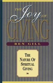 Cover of: The Joy of Giving