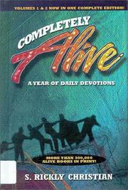 Cover of: Completely alive