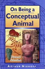 Cover of: On being a conceptual animal