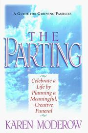 Cover of: The Parting | Karen Moderow