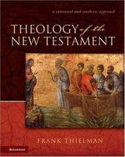 Cover of: Theology of the New Testament
