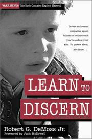 Cover of: Learn to discern | Robert G. DeMoss