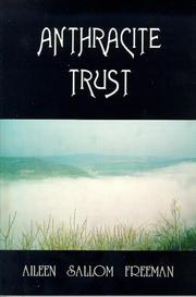 Cover of: Anthracite trust | Aileen Sallom Freeman