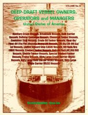 Cover of: Deep-Draft Vessel Owners, Operators and Managers, Fishing Vessels - Shallow and Deep-Draft, Yachts Sail & Motor (Mariner's Directory & Guide , Vol 5)