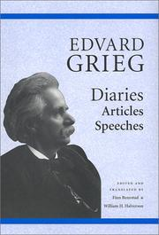 Cover of: Edvard Grieg