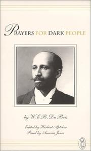 Cover of: Prayers for Dark People |