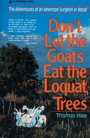 Cover of: Don't Let the Goats Eat the Loquat Trees