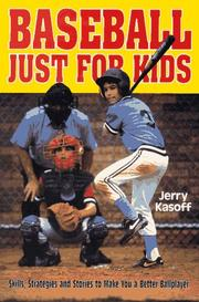Cover of: Baseball just for kids