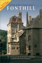 Cover of: Fonthill, the home of Henry Chapman Mercer