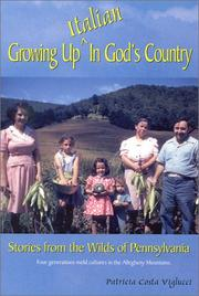 Cover of: Growing up Italian in God's country