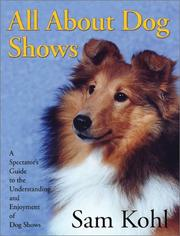 Cover of: All about dog shows